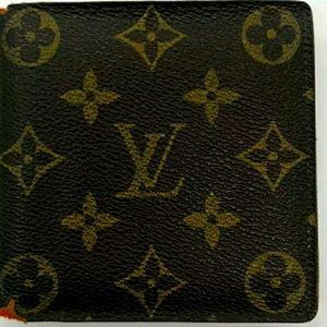 Authentic Louis Vuitton Mens Wallet
